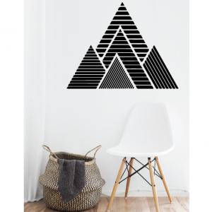 mountain wall decal design