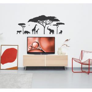 animal kingdom wall decal design