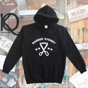barber sydney occupation pull up hoodie