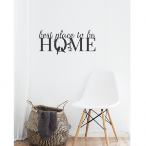 best place to be home wall design