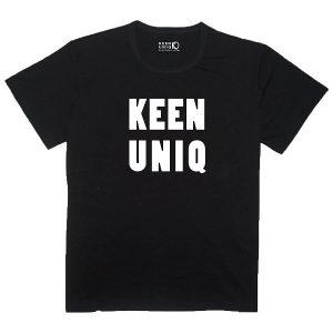 64ee5686 High Quality Men and Women Bamboo Black T-shirt - Keen Uniq