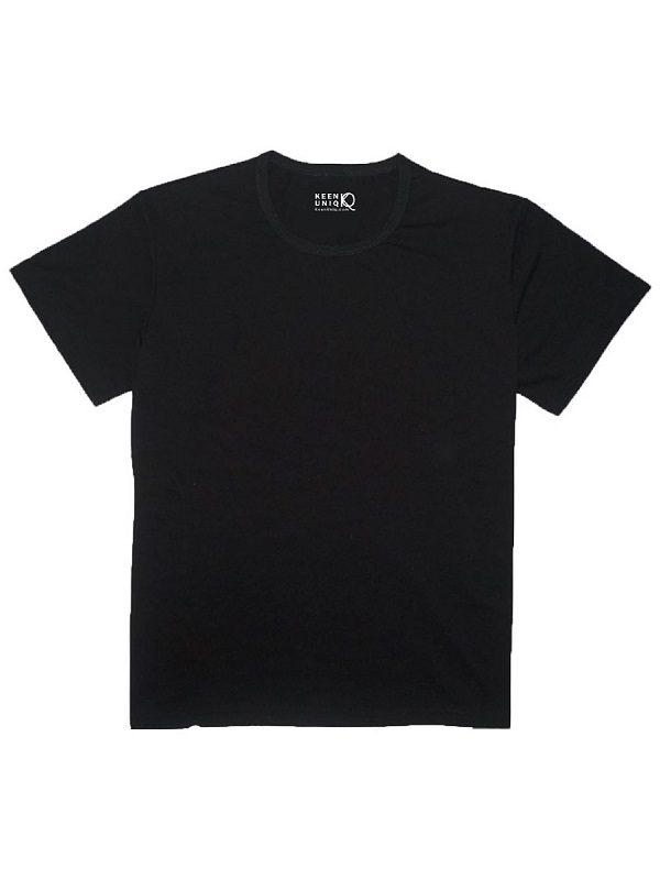 bamboo blank black t-shirt keenuniq