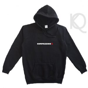 compassion eco-friendly hoodie