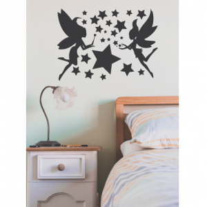 fairy tale wall decal design