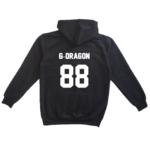 g-dragon kpop hoodie jersey number 88