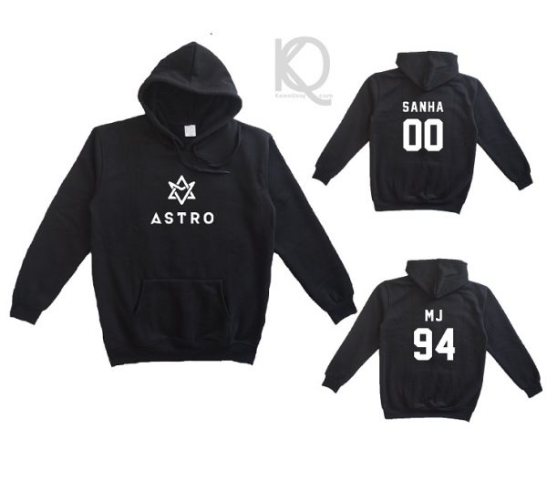 hoodie kpop astro front