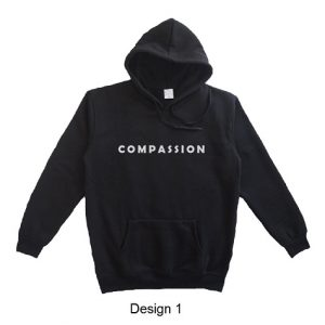 hoodie quote compassion design 1