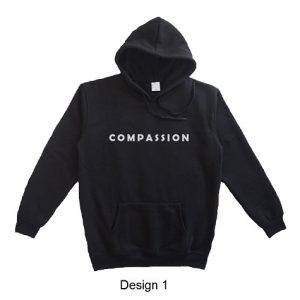 hoodie quote compassion design 1