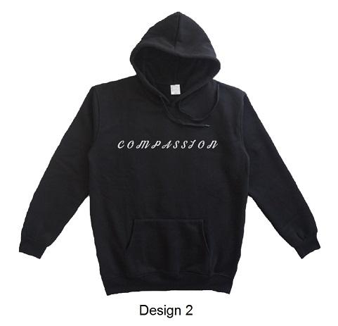 hoodie quote compassion design 2