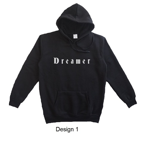 hoodie quote dreamer design 1