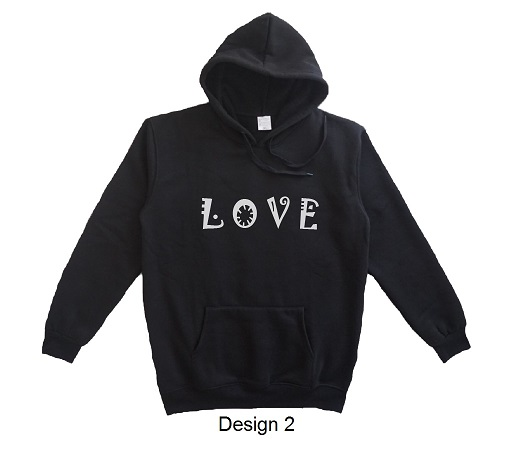 hoodie quote love design 2