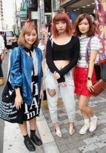 japanese women summer spring fashion
