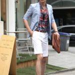korean men summer spring