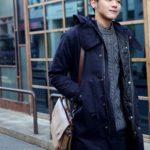 korean men winter autumn