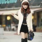korean women winter autumn fashion
