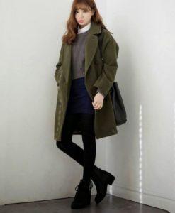 korean women winter trend