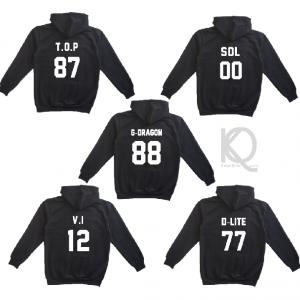 kpop bigbang hoodie back