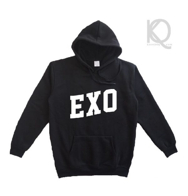 kpop exo hoodie front