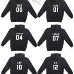 kpop exo hoodie 1