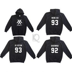 kpop monstaX hoodie 2