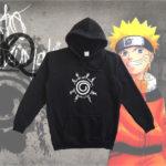 naruto anime pull up hoodie
