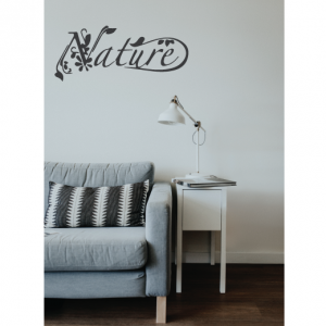 nature wall decal design