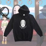 no face kaonashi anime pull up hoodie