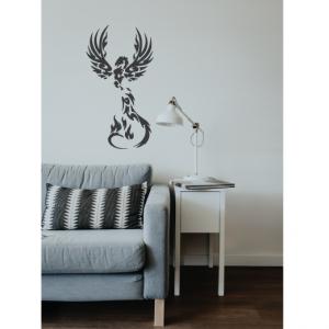 phoenix wall decal design