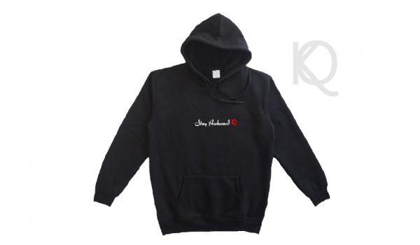 stay awkward eco-friendly quality hoodie