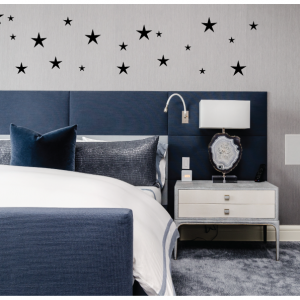 stars wall decal design