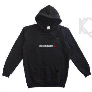 trust me im an engineer eco-friendly hoodie