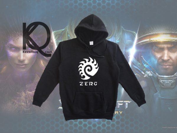 zerg starcraft pull up hoodie